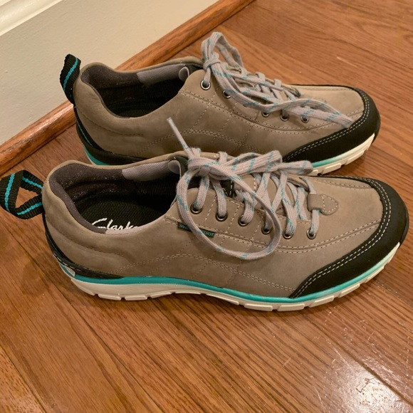 Clarks Shoes   Clarks Wave Go Sneakers